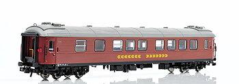 Personvagn SJ B12 4972 (f.d. A