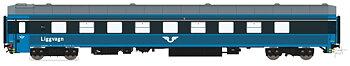Liggvagn BC4 5466 SJ Blå generation 2