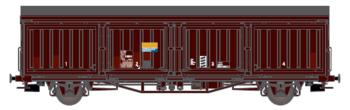 Godsvagn SJ Hbis 21 RIV 74 SJ 211 5 693-6
