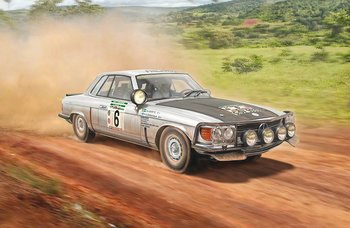 Mercedes 450 SLC Rally Bandama 1979 1/24