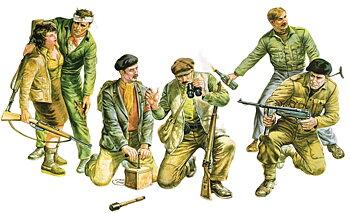 Partisanas WWII 1/35