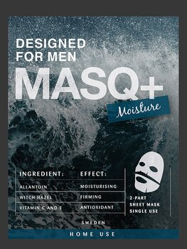 MASQ+ Moisture, designed for men, 5-pack