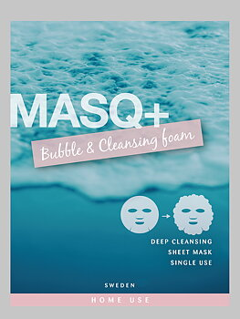 MASQ+ Bubble & Cleansing foam 5-pack