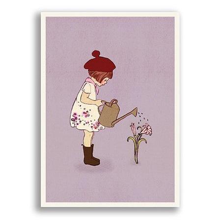 Grew this, Belle & Boo Postcard, Vykort från Belle & Boo