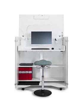 Cubic ergonomisk arbetsplats