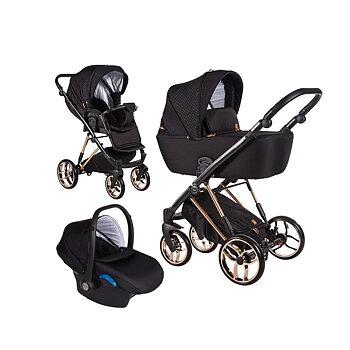 Barnvagnspaket 3i1 Baby Merc La Rosa Limited