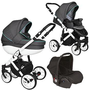 Faster 2 barnvagnspaket 3i1