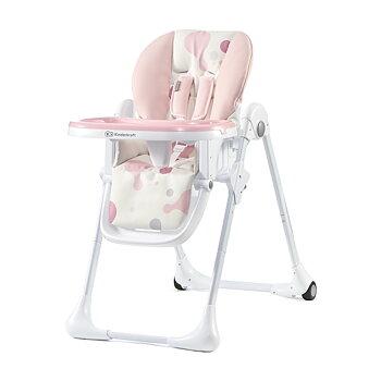 Matstol Hög Stol Yummy Kinderkraft - Pink