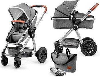 Kinderkraft Veo Duovagn 2i1 - Grey