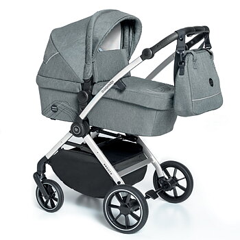 Barnvagn 2i1 Babydesign Smooth