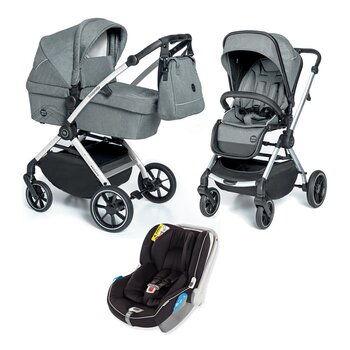 Barnvagnspaket 3i1 Babydesign Smooth