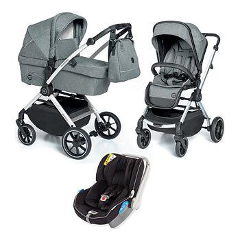 Barnvagnspaket 3i1 Babydesign Smooth