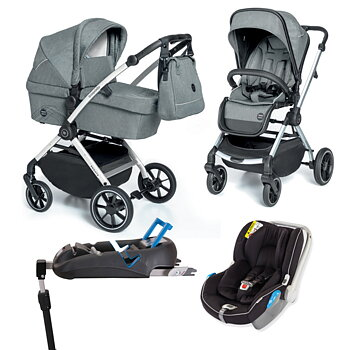 Stor Barnvagnspaket 4i1 Babydesign Smooth