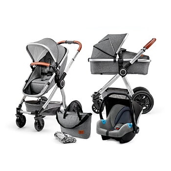Kinderkraft Veo Travelsystem 3i1 - Grey