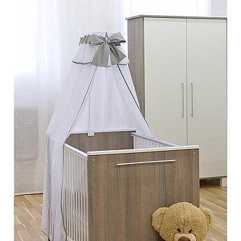 Sänghimmel Exclusive inkl. stativ - Grå