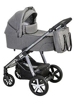 Barnvagn Husky 2021, Baby Design, 2i1 (max vikt 22kg)