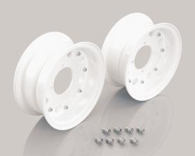 "8"" Kitaco alloy rim set 8hole design White"