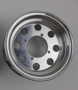 "8"" alloy rims 8 hole CNC"