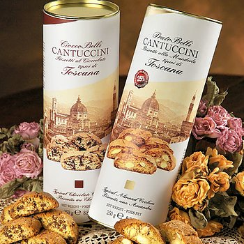 Lyxcantuccini med choklad, 250g