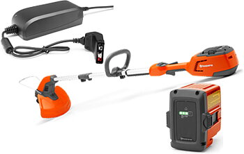 Husqvarna 115iL Coupe bordures sur batterie + BLi10 & QC80