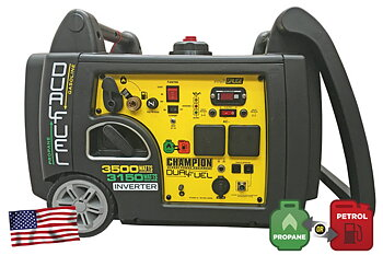 CHAMPION 3400W INVERTER- ELVERK DUAL FUEL