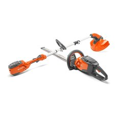 Husqvarna 115iHD45 Battery Hedgetrimmer & Trimmer 115iL + BLi10 and QC80