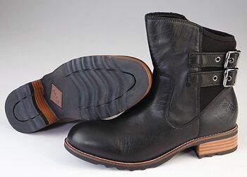 MuckBoot Verona Svart läder