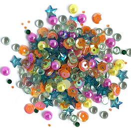 Buttons Galore - Sparkletz - Rainbow