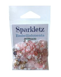 Buttons Galore - Sparkletz Embellishments - Coral Coast
