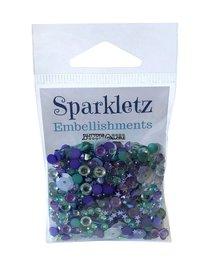 Buttons Galore - Sparkletz Embellishments - Sailors Sky