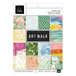 """Heidi Swapp - Art Walk - Paper Pad 6""""x8"""""""