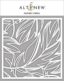 Altenew Stencil - Feathery