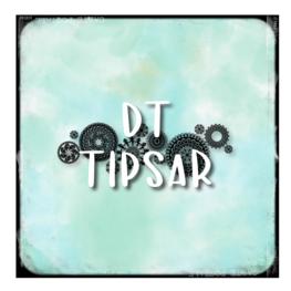 DT Malin tipsar - Montering av gummistämplar med stämpelmotivet på baksidan