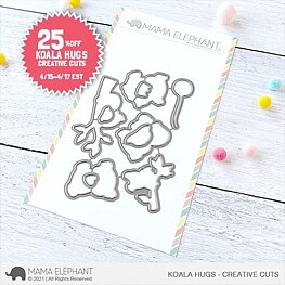 Mama Elephant - Koala Hugs - Creative Cuts
