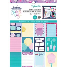 "American Crafts - Sparkle City - Paper Pad 6""x8"""