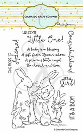 Colorado Craft - New Baby - Clearstamps