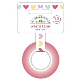 Doodlebug - Made With Love Washi Tape - Candy Hearts