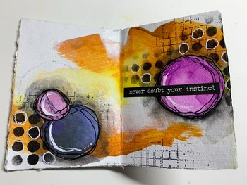 Onlinekurs - Mini Art Journal 21/3