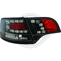 Baklyktor design i par.Audi.A4 Lim/Avant(8E) 04-07