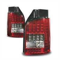 LED Baklykt set till VW T5 03- rödvita