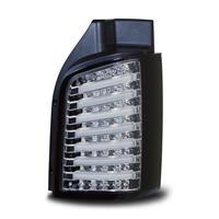 LED Baklykt set till VW T5 03- kromklar