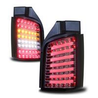 LED Baklykt set till VW T5 03- 10,svartklar