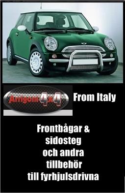 Frontbågar /Sidosteg Arrigoni 4x4