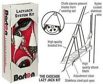 Barton Lazy Jack för båtar över 12 meter