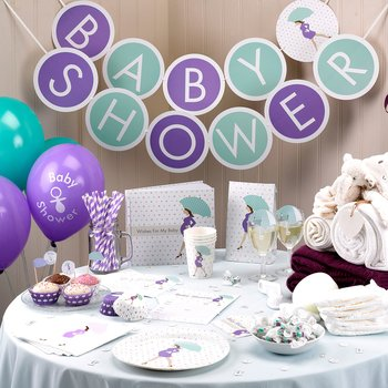 Showered in Love Girlang - Babyshower