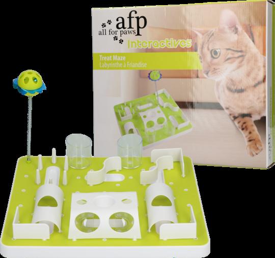 Stimulerande och klurig aktivitetsleksak för katt.