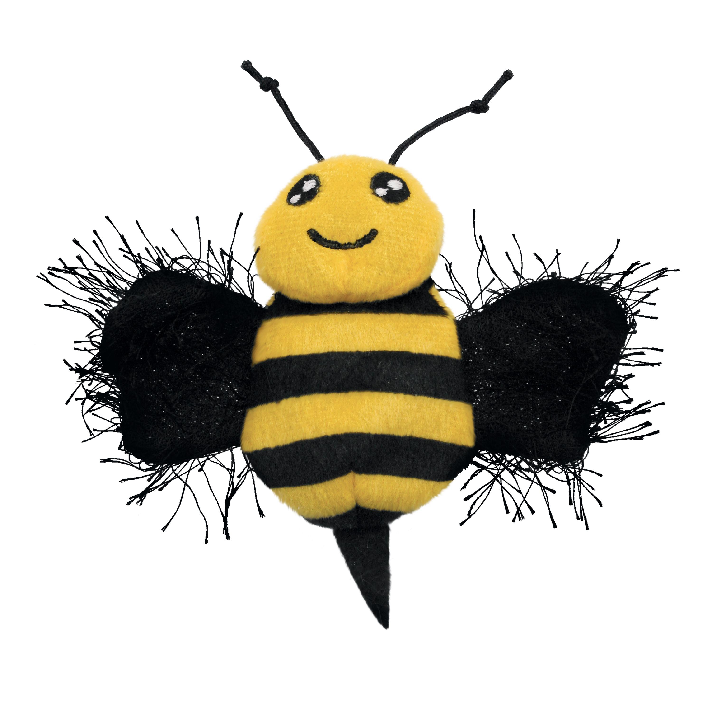 KONG Better Buzz Bee Kattleksak med Kattmynta