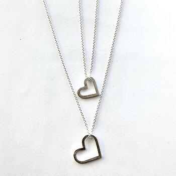 Nyhet Halsband Hjärta  925 Silver