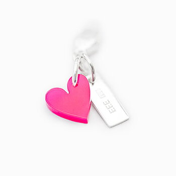 Charm Mini Acrylic Heart
