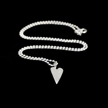 Halsband, litet hjärta